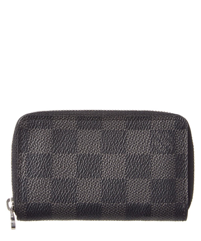 90ae3df997b3 Louis Vuitton Damier Graphite Canvas Zippy Coin Purse Vertical  In Grey