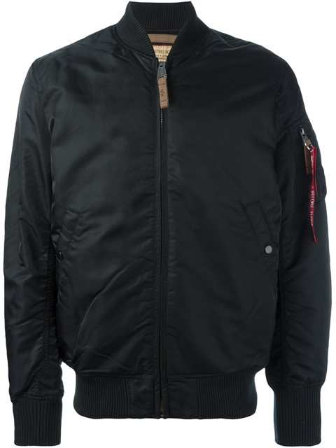 save off 37bdb 0dcd6 Camouflage Bomber Jacket in Black