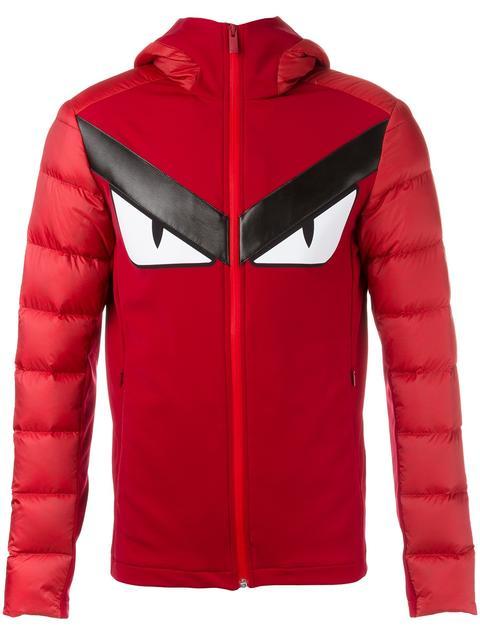 f4c436cb8786 Fendi Bag Bugs Padded Jacket In Red   ModeSens