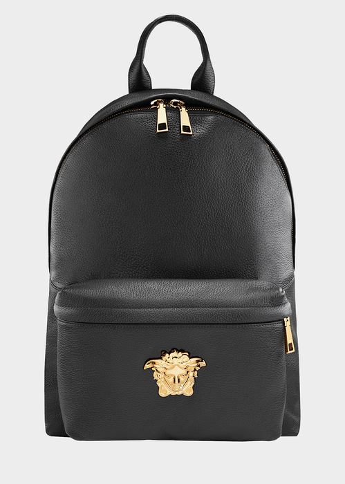 d52ec93d6b8 Versace Men S Embossed Leather Medusa Backpack In Black   ModeSens