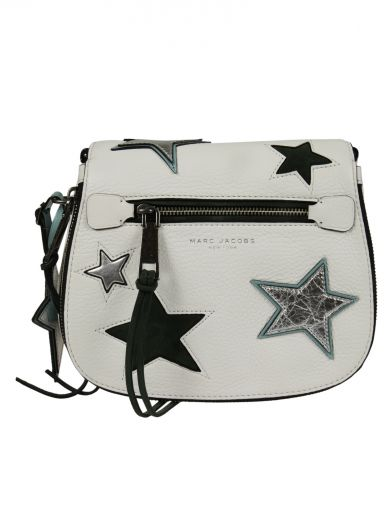 4c7073bb0a94 Marc Jacobs Star Patchwork Small Saddle Bag