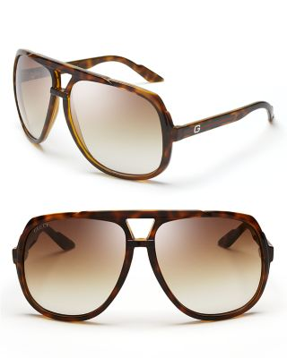 3818896b1e Gucci Plastic Aviator Sunglasses W  Web Detail