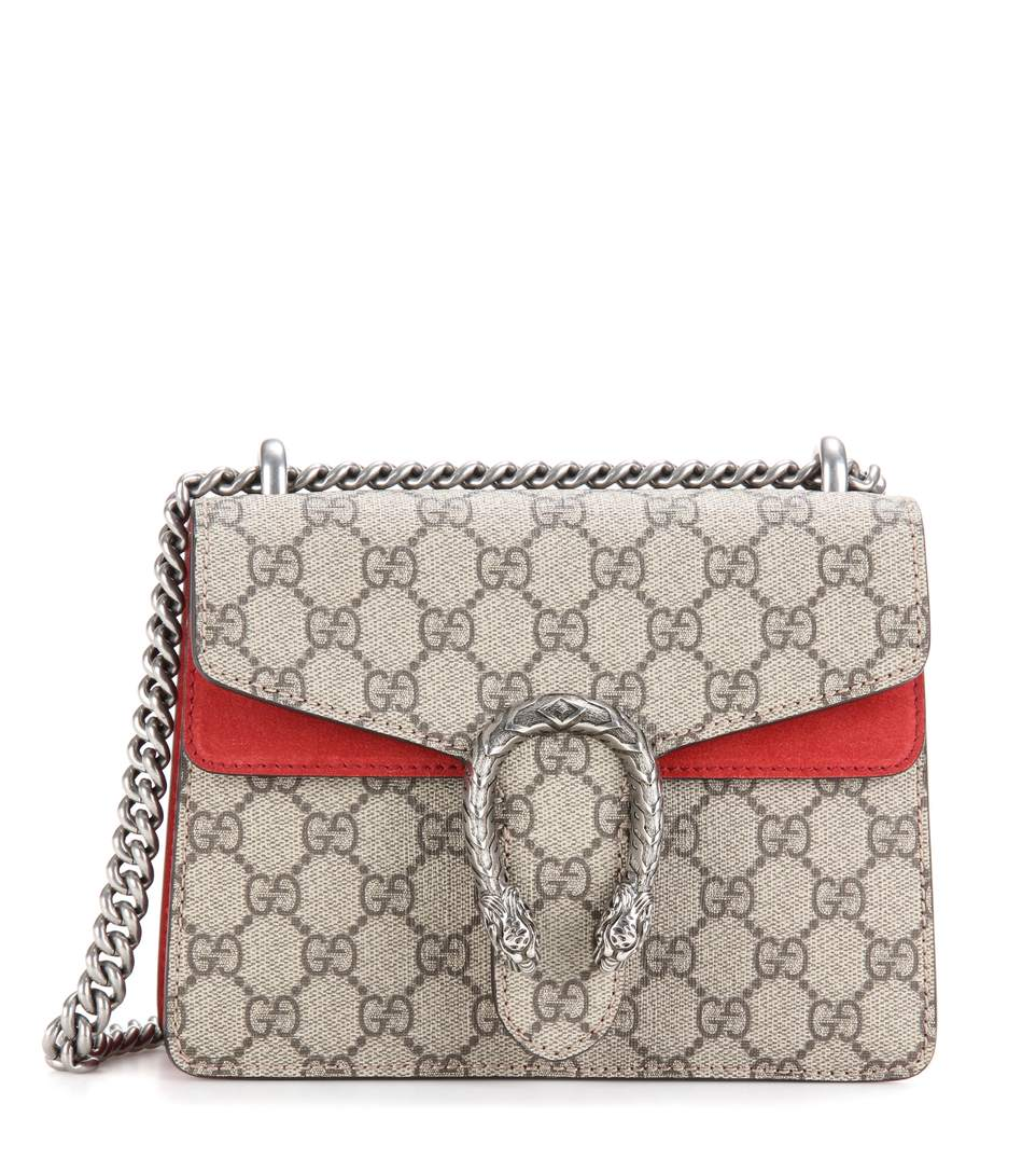 9fe09503f Gucci Mini Dionysus Gg Supreme Shoulder Bag - Pink In Neutrals ...