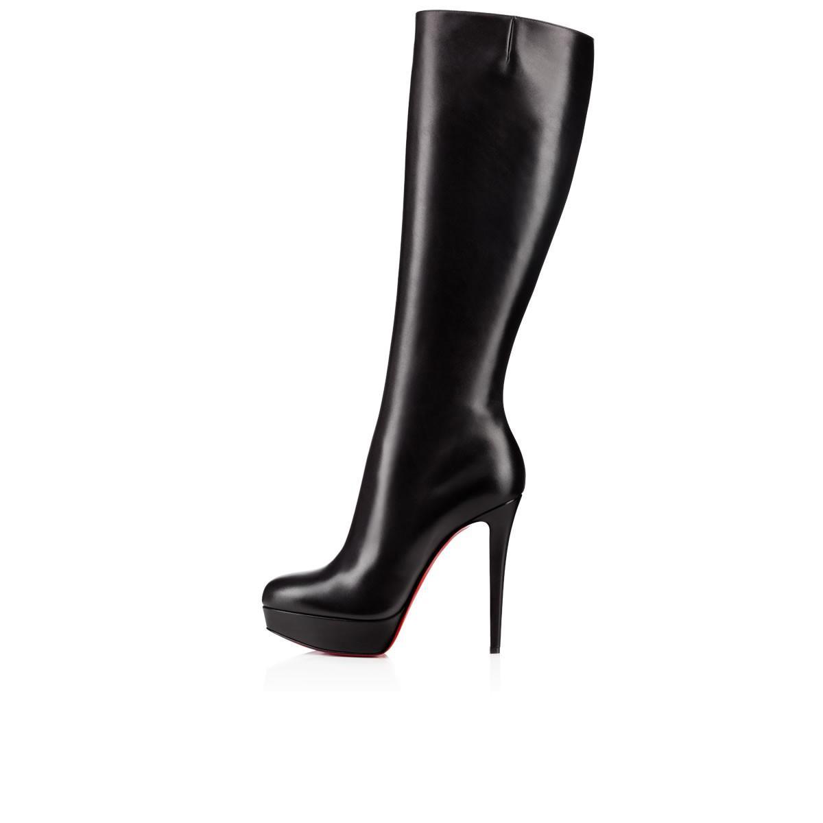 2824f2d0e67 Bianca Botta Platform Red Sole Boot, Black