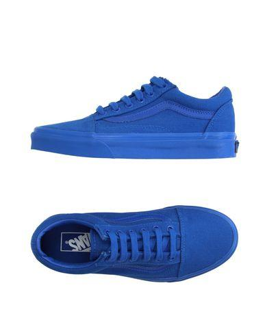 solid blue vans