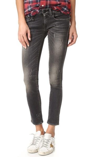 The Kate Skinny Jeans In Orion Black