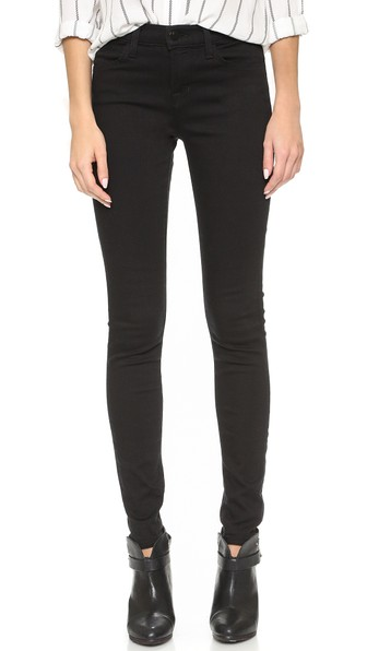 94f0c374382f J Brand 620 Super-Skinny Mid-Rise Jeans In Seriously Black | ModeSens