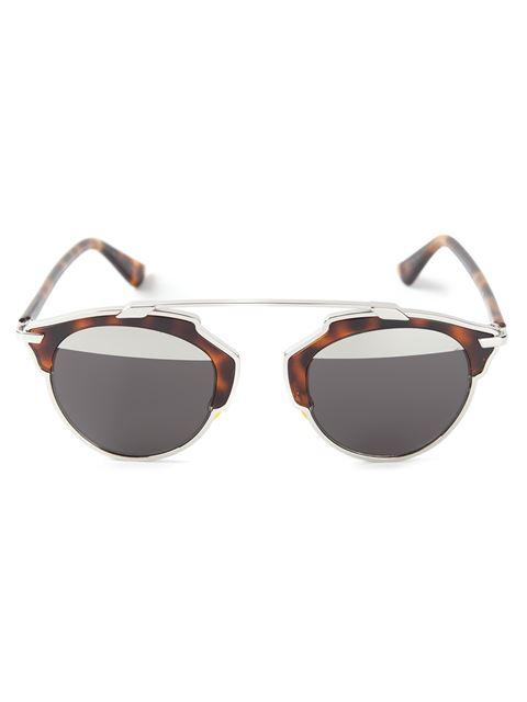f98fdb3ec080 Dior Eyewear  So Real  Sunglasses - Brown