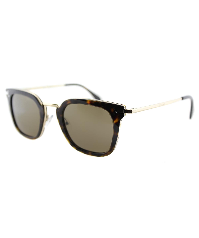6e506e4540e Celine Vic Square Plastic Sunglasses In Dark Havana