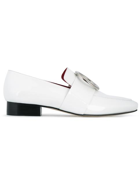 Dorateymur Exclusive To Mytheresa.Com - Harput Patent Leather Loafers In White