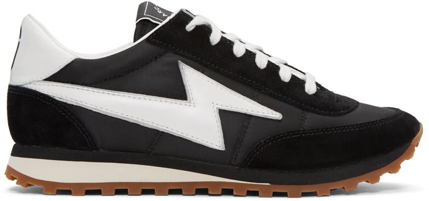 Marc Jacobs Womens Astor Lightning Bolt Jogger Sneaker