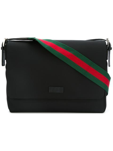 Gucci Techno Canvas Messenger Bag - None In 1060