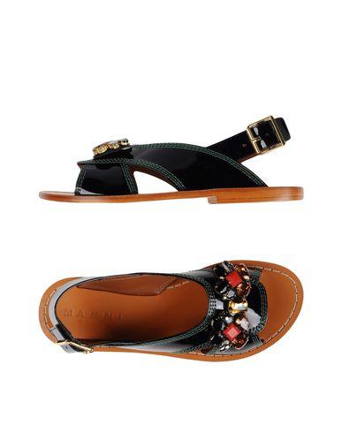 Marni Sandals In Black