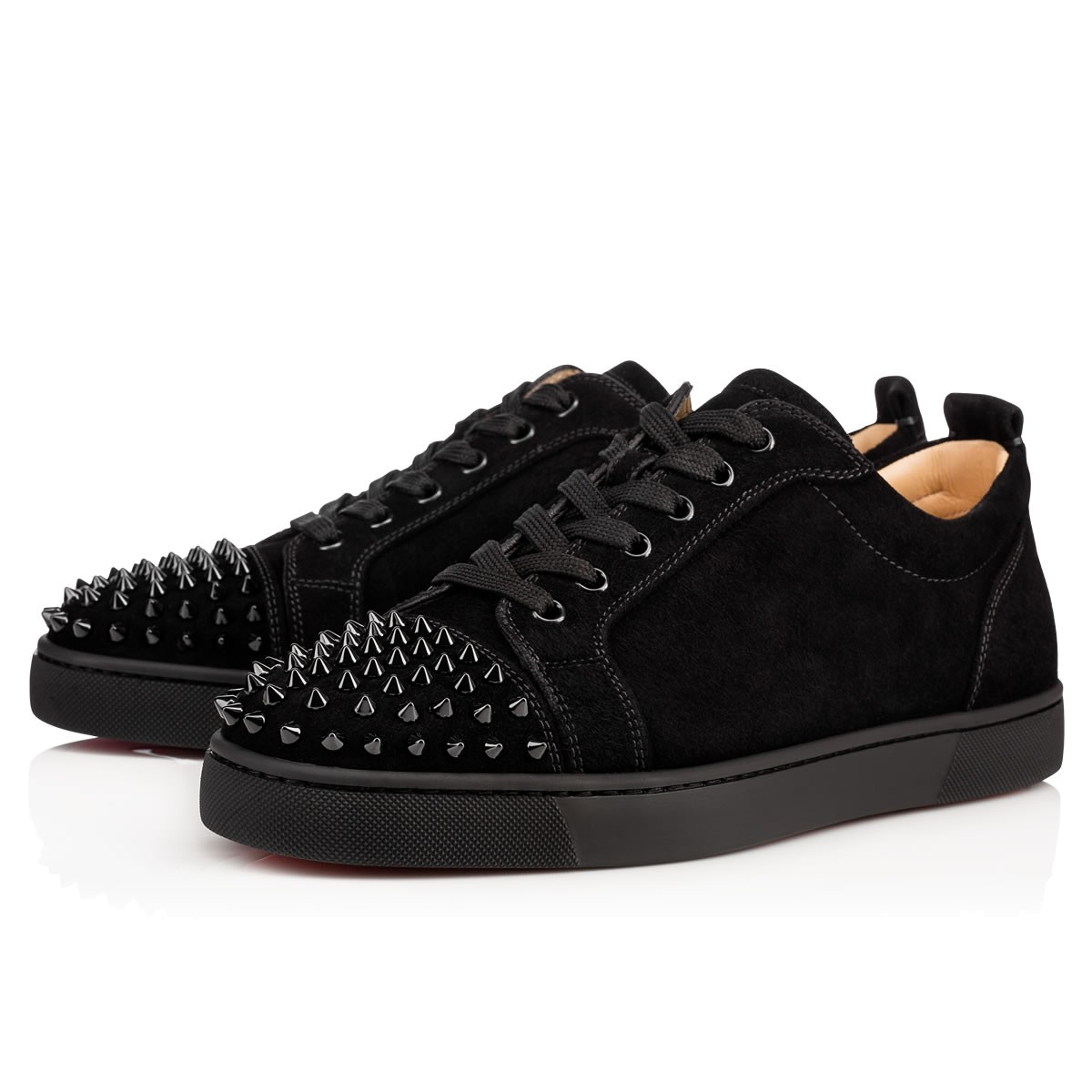 67ffe6eac96 Christian Louboutin Louis Junior Spikes Veau Velours Gros Grain In ...