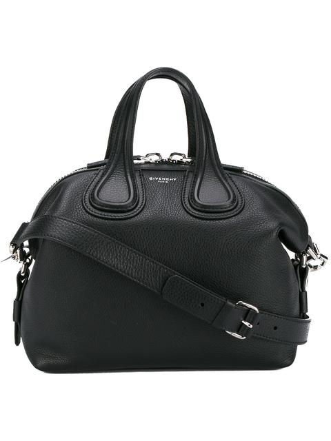 777ed4d2ae Givenchy  Medium Nightingale  Calfskin Leather Satchel - Black In 001 Black