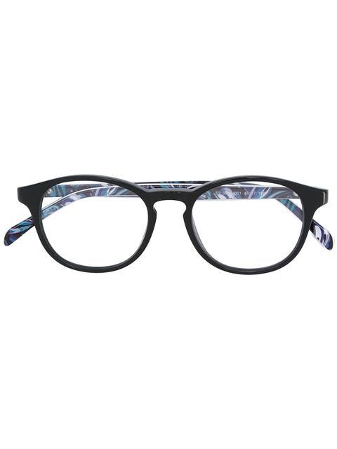 e034f9a730 Emilio Pucci Oval Frame Glasses