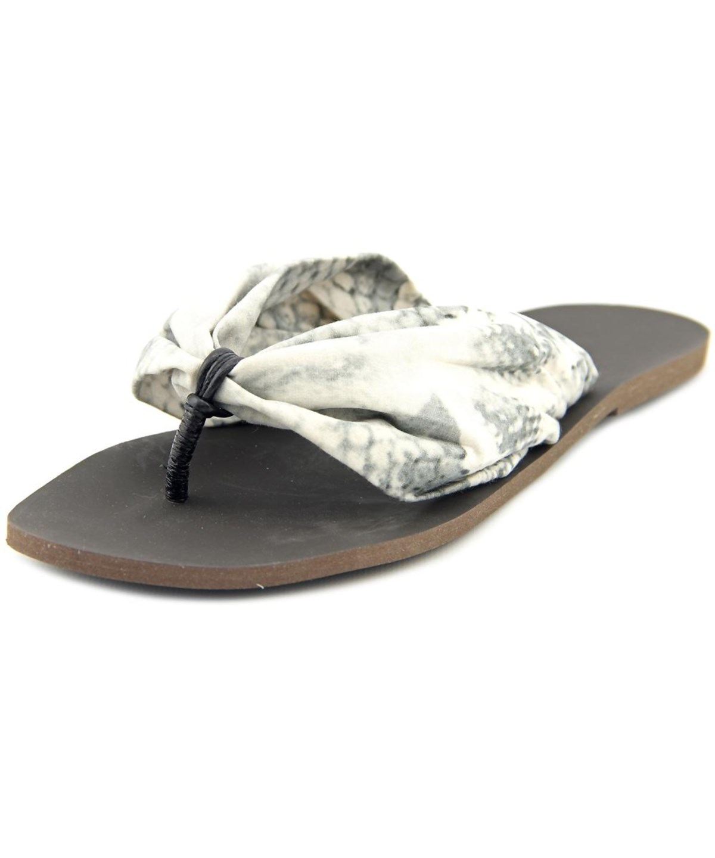 d88603f254b1 Balmain Mare Donna Women Open Toe Canvas Multi Color Thong Sandal In Multiple  Colors