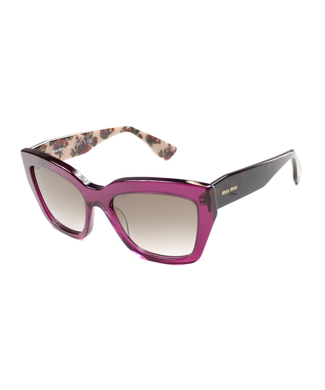 a9127bb66aa9 Celine Sacha Square Plastic Sunglasses In Black