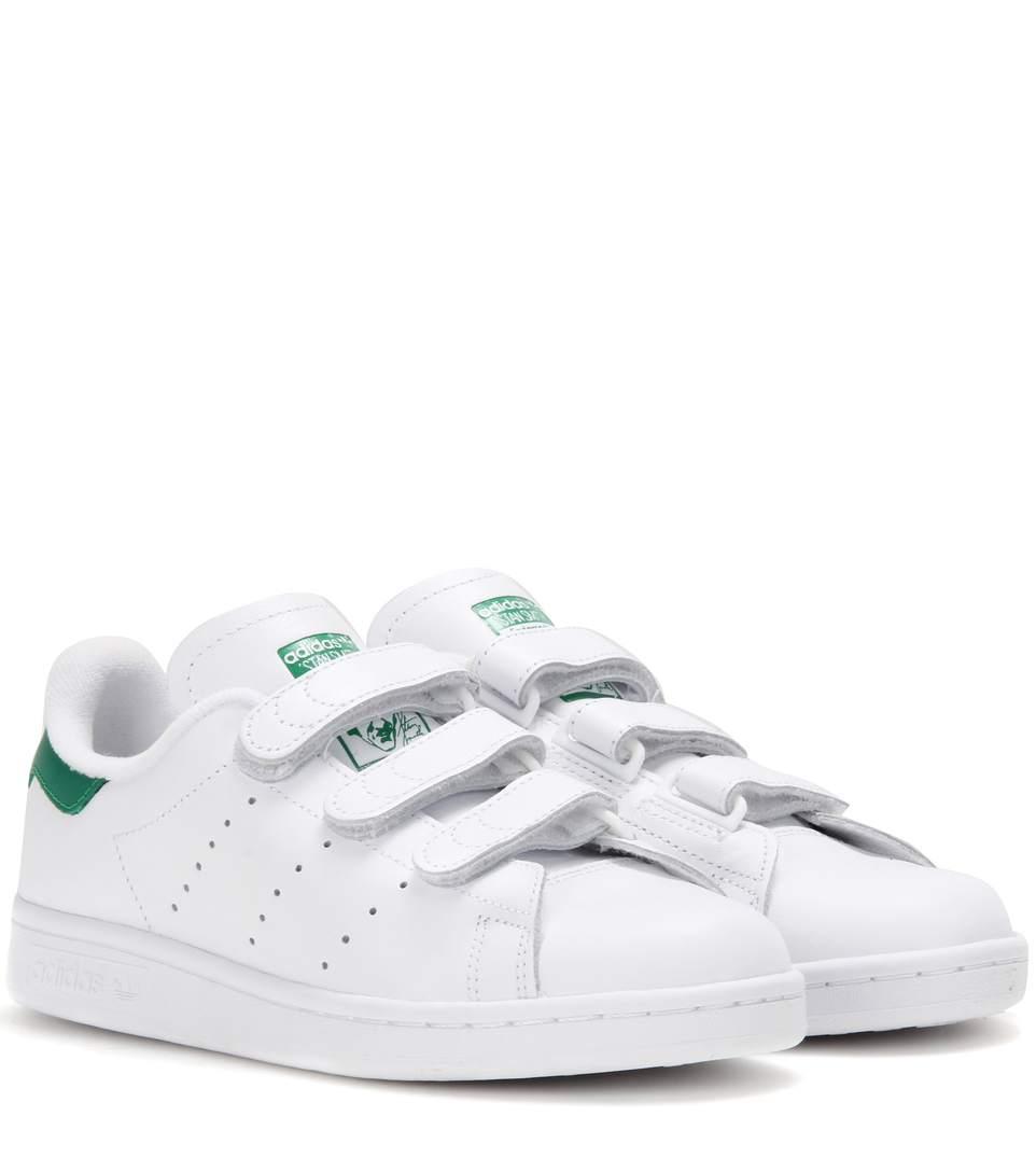 new concept 7f236 9e350 Adidas Originals Stan Smith Comfort Leather Sneakers In White