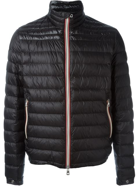 8f62633ecbc9 Moncler Daniel Down-Quilted Jacket - Navy In Black. Farfetch