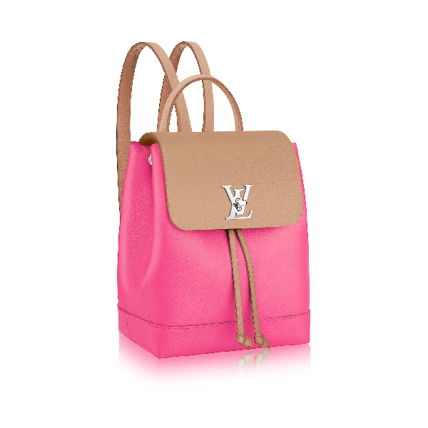 6e8f3d978789 Louis Vuitton Lockme Backpack In Pink