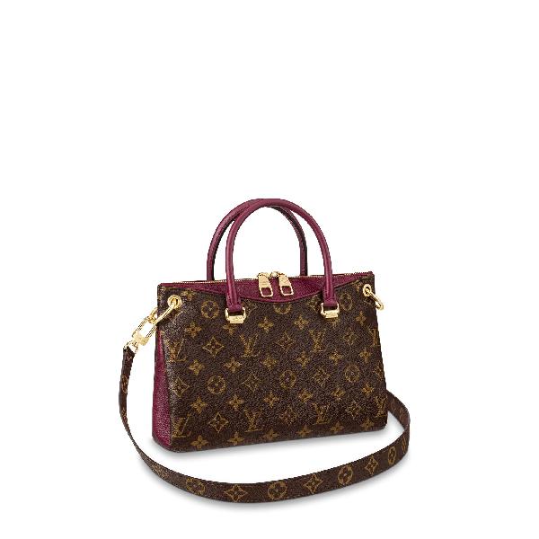 362543d3bbb8 Louis Vuitton Pallas Bb In Raisin