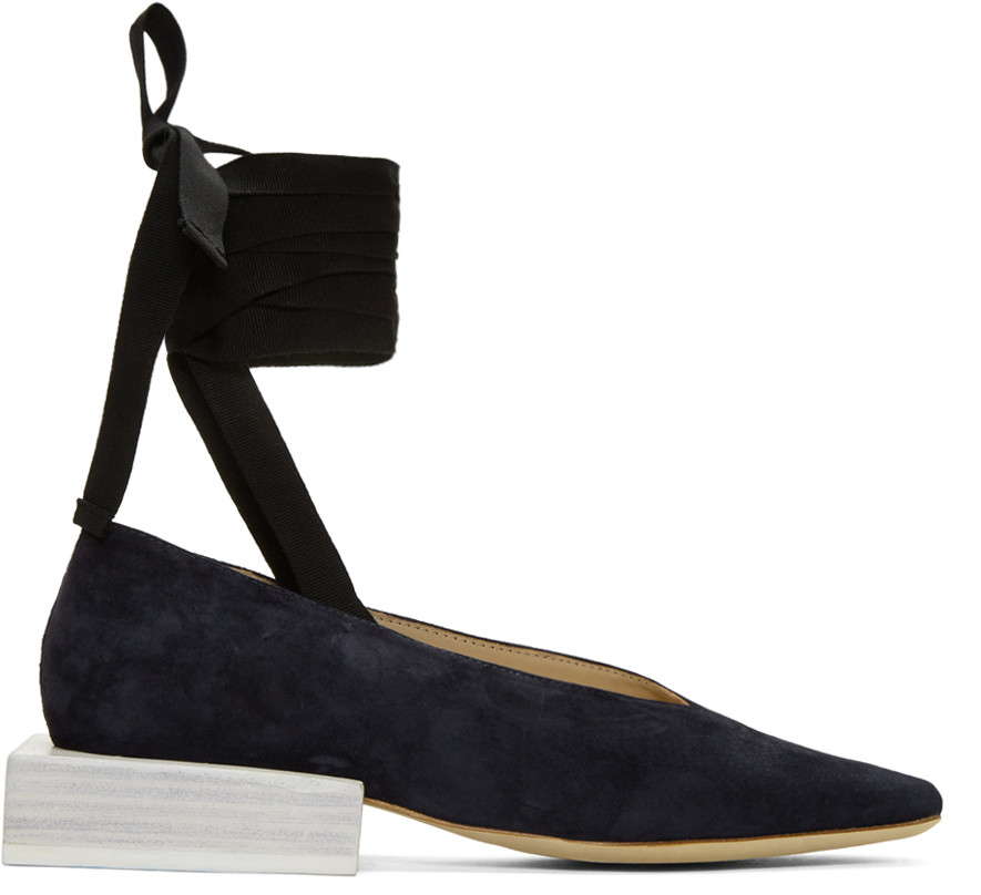 860fdf8264e Jacquemus Navy  Les Chaussures LacÉEs  Loafers