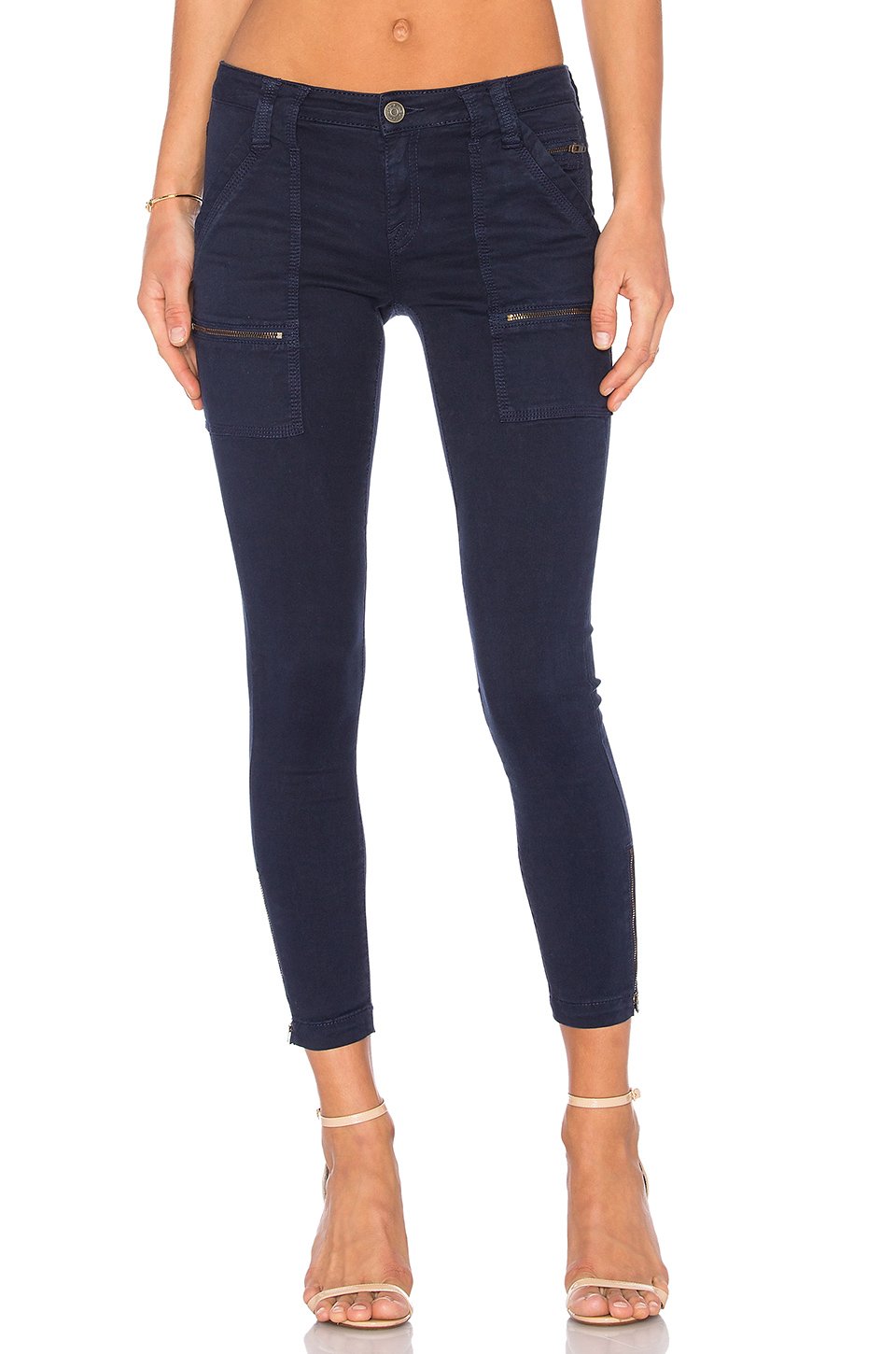 c74eb86e167b Joie Park Skinny Jeans In Stone Blue
