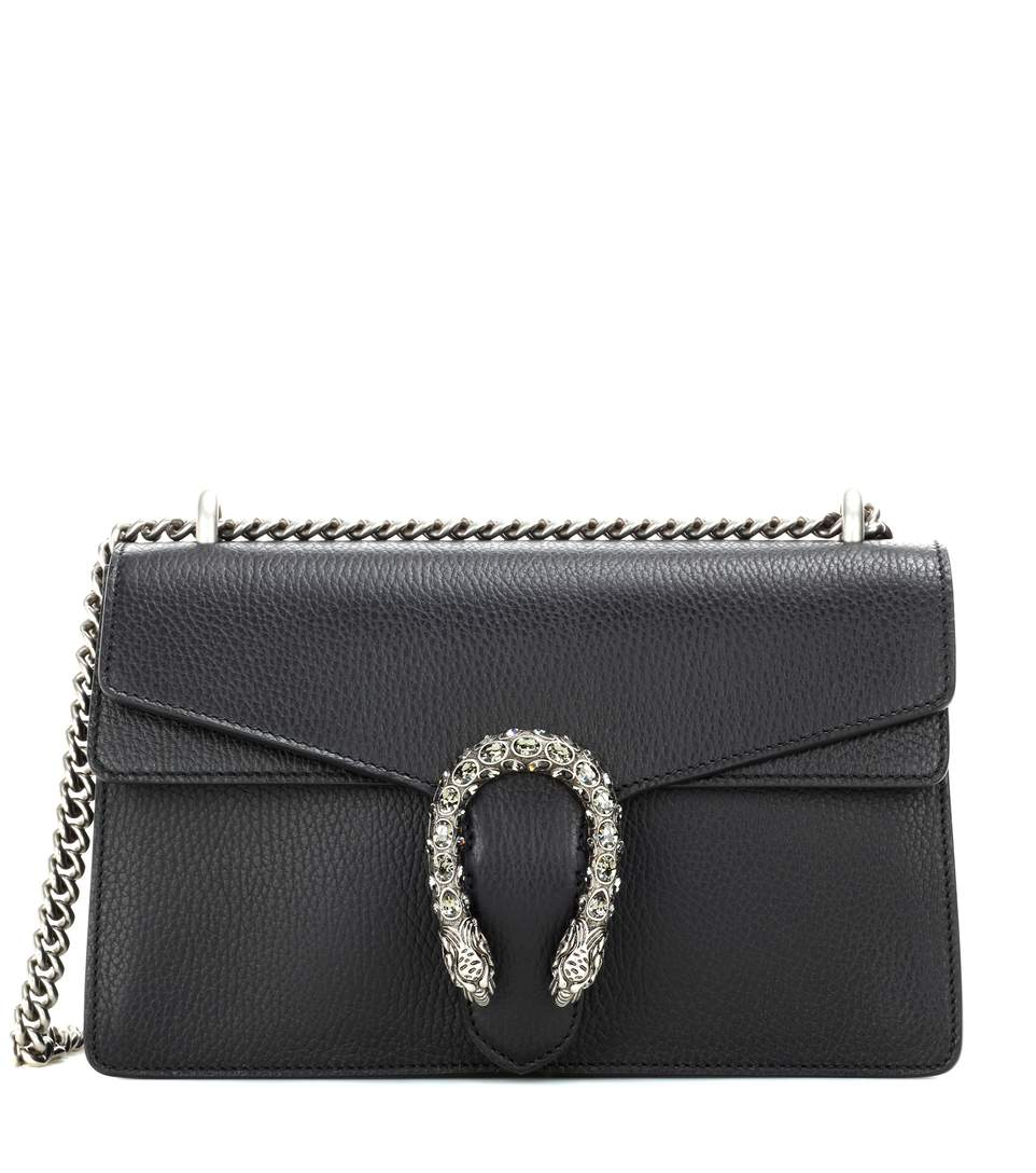 08e6f8bb2c89 Gucci Dionysus Small Leather Shoulder Bag In Black | ModeSens