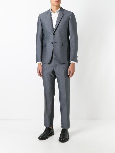 Thom Browne Two-Piece Suit - Farfetch In Grey