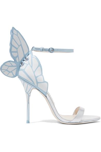 58563f44acfda2 Sophia Webster  Evangeline  3D Glitter Angel Wing Mirror Leather ...