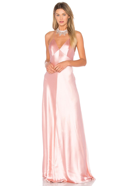 10e62e5ff690 Jill Jill Stuart Sleeveless Satin Slip Gown In Peach Blossom | ModeSens
