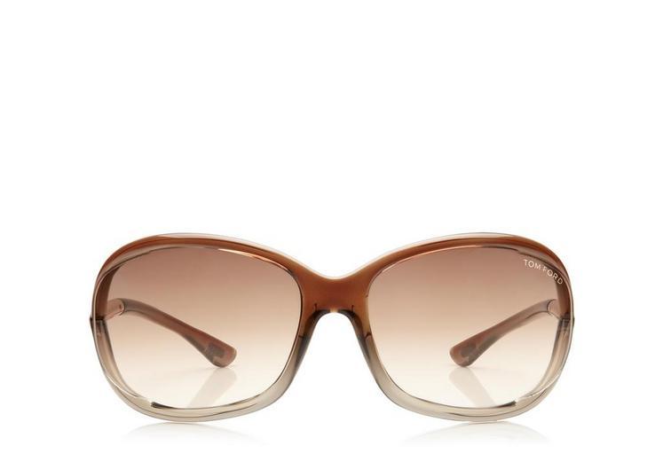 d2257d9164a Jennifer Soft Square Sunglasses. Shiny black plastic frame ...