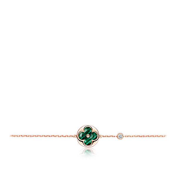 f4f4da72581 Color Blossom Bb Sun Pendant, Pink Gold, Malachite And Diamond