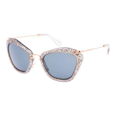 lentes carbono con de Gafas brillo Miu Noir en fHvHO4