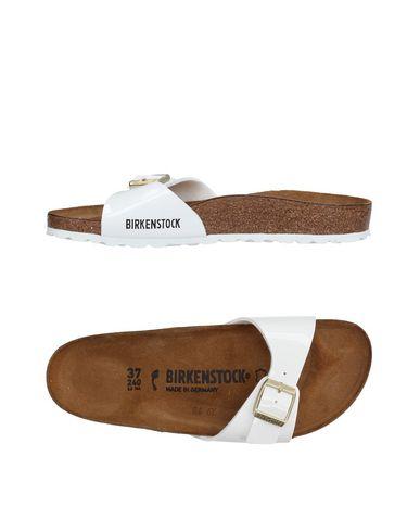 67895355e79 Birkenstock  Madrid  Birko-Flor(Tm) Sandal In White Patent