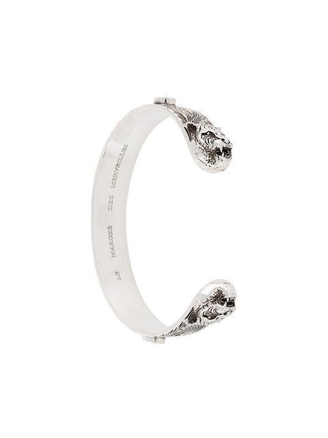 06d970020 Gucci Tiger Head Bracelet In Metallic | ModeSens