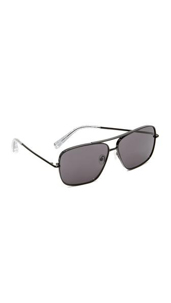 de0027cc40 Elizabeth And James Deacon Sunglasses In Black Smoke Mono