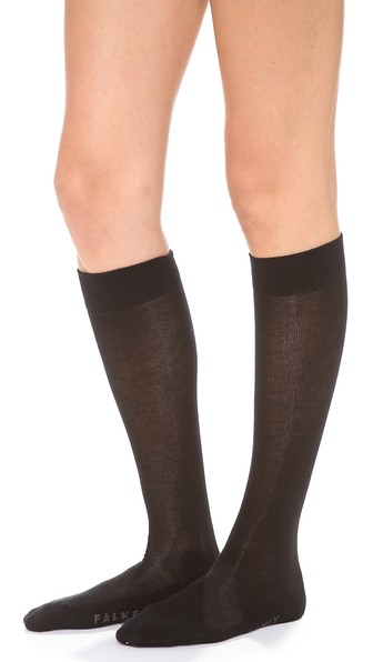 725022ab8af Falke Family Knee High Socks In Black