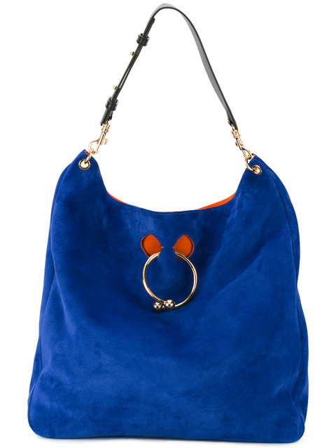 Jw Anderson J.w. Anderson Pierce Obo Shopping Bag In Royal Blue