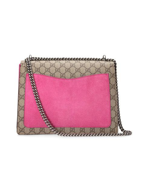 649f5f8edce Gucci Dionysus Embroidered Gg Supreme Canvas Shoulder Bag