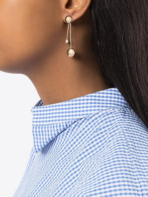 Pamela Love Satellite Earrings - Metallic