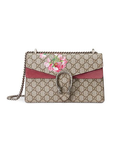 e335e487d Gucci Dionysus Small Gg Blooms Shoulder Bag In 8693   ModeSens
