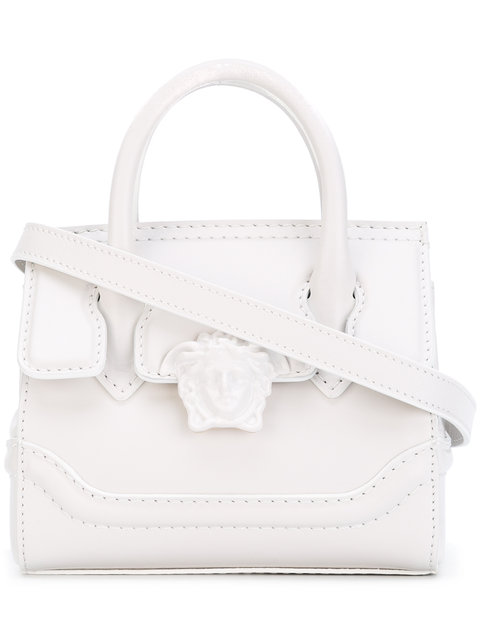 019fe23e Mini Palazzo Empire Shoulder Bag in White