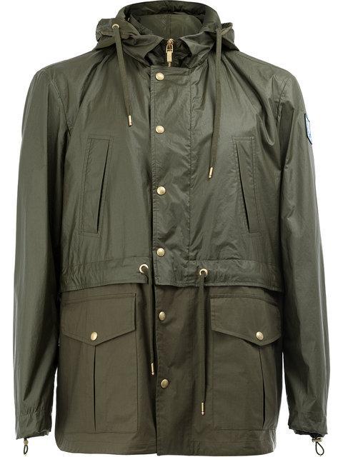 dda3ad596fce Moncler Gamme Bleu Moncler Hooded Field Jacket - Green