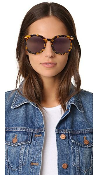 d6ffa969f40 Karen Walker Alternative Fit Super Duper Round Sunglasses