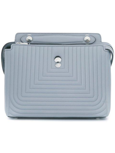 102da397dcc9 Fendi Dotcom Click Shoulder Bag - Grey