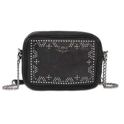 Zadig   Voltaire Xs Boxy Boho Leather Crossbody Bag In Black  93b971ece0603