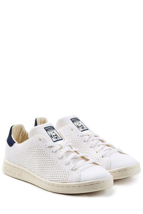 Adidas Originals Stan Smith Mesh Sneakers In White | ModeSens
