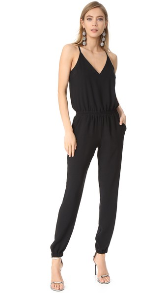 3d91b7cdce5 Amanda Uprichard Madison Jumpsuit In Black. Shopbop